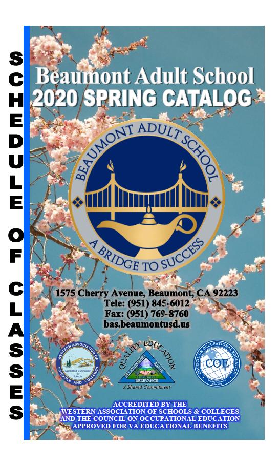 Spring 2020 Catalog
