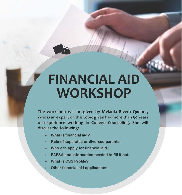 College Financial Aid Workshop Featured Photo