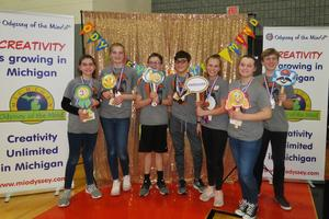 TKMS OM team places third at the state finals.