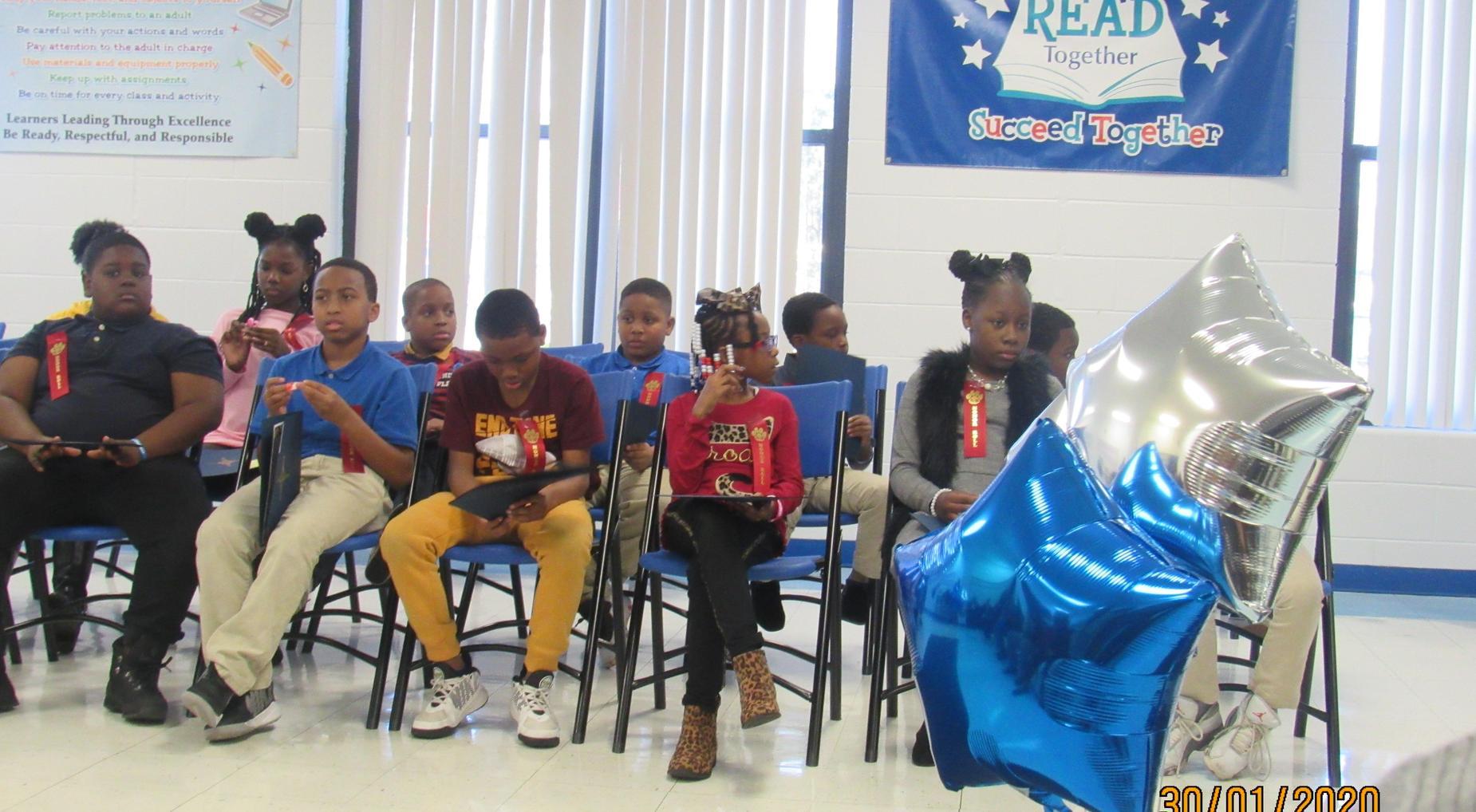 Second Quarter Awards Day Program