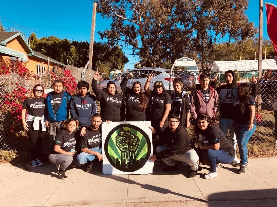 LA CAUSA students at Christmas Tree Lot