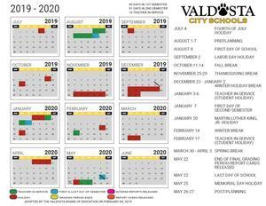 DRAFT 2019.20 Academic Calendar