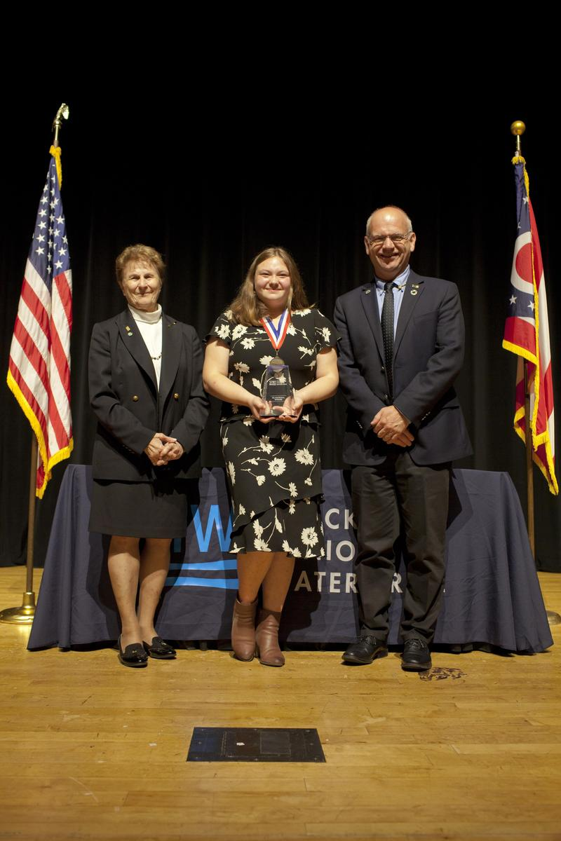 HVRSD student Sonja Michaluk was recently selected as the 2019 U.S. Stockholm Junior Water Prize winner