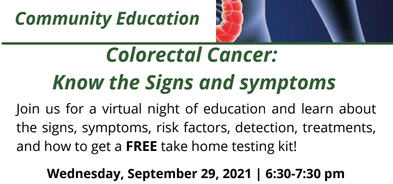 Colorectal Cancer: know the Signs and Symptoms