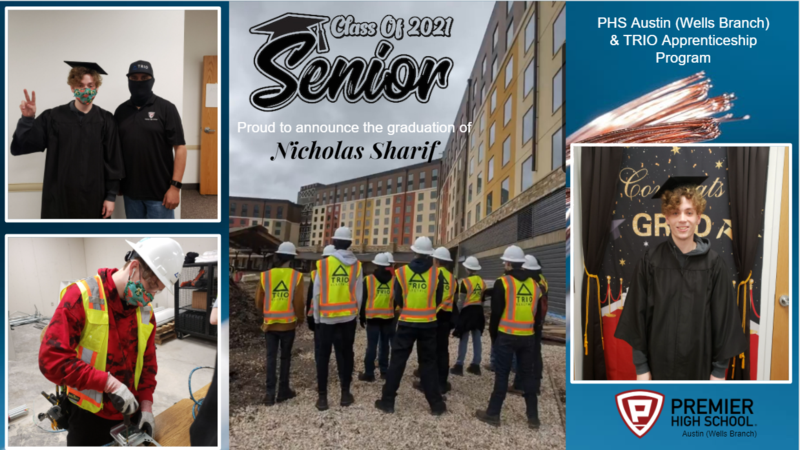 Sharif Nicholas 2021 Grad