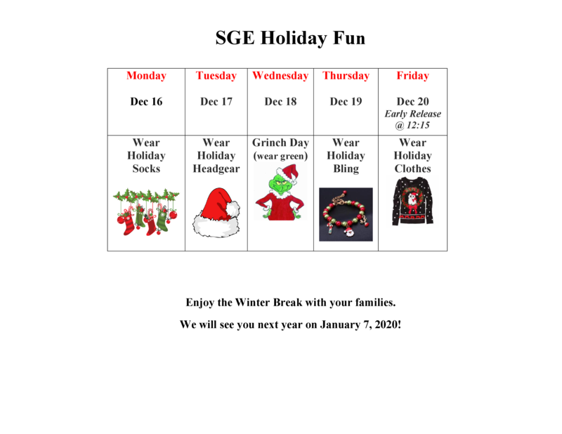 Join in the holiday fun, December 16-20! Thumbnail Image