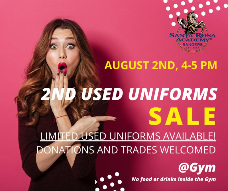 Photo of 2nd used uniform sale