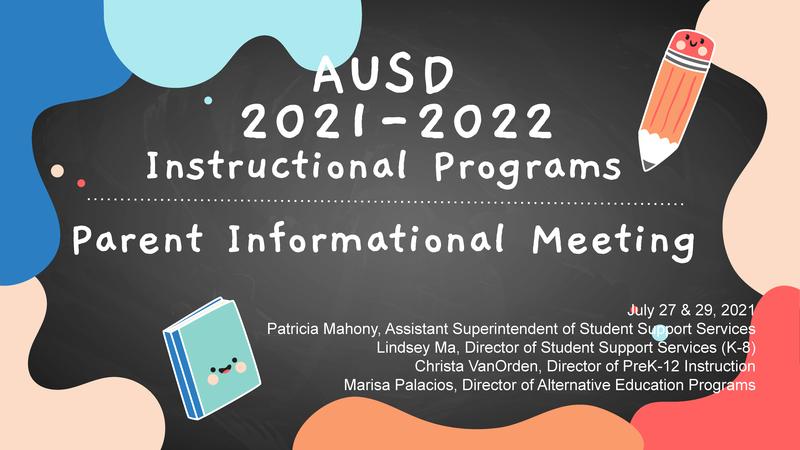2021-22 Virtual Learning Program - High School Slideshow PDF Featured Photo