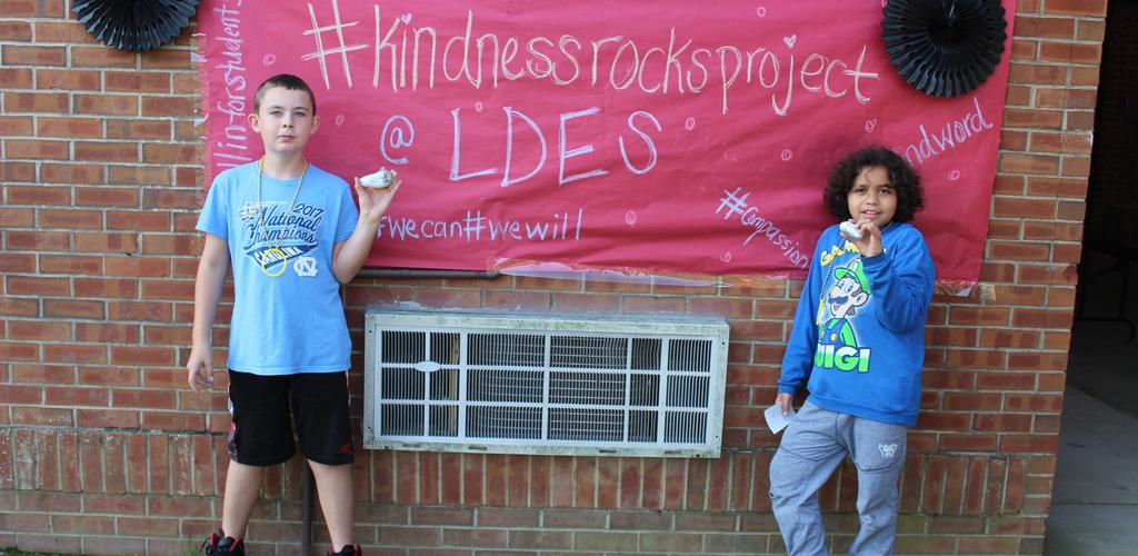 Kindness Rocks with CIS and United Way!