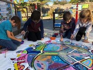VCS Third Graders Peace Mural Photo.jpg
