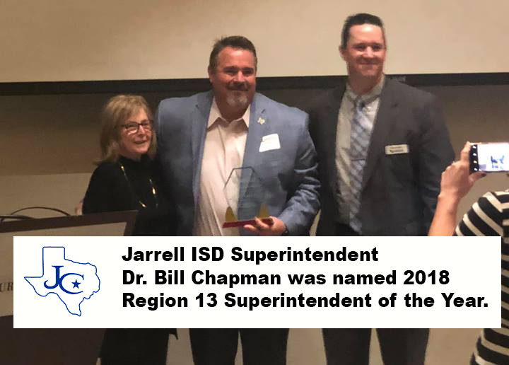 Chapman named Superintendent of the Year