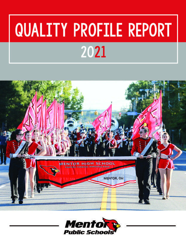 Cover of the report with picture of marching band