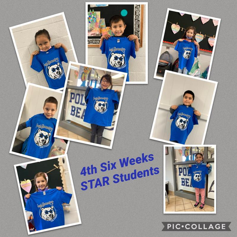 4th Six Weeks STAR Students PK - 2nd Grade Featured Photo