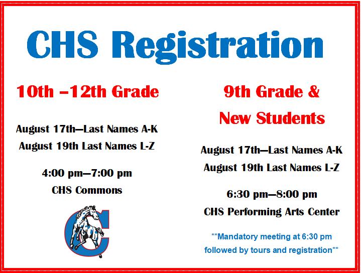 High School Registration for 2021-2022 School Year Thumbnail Image