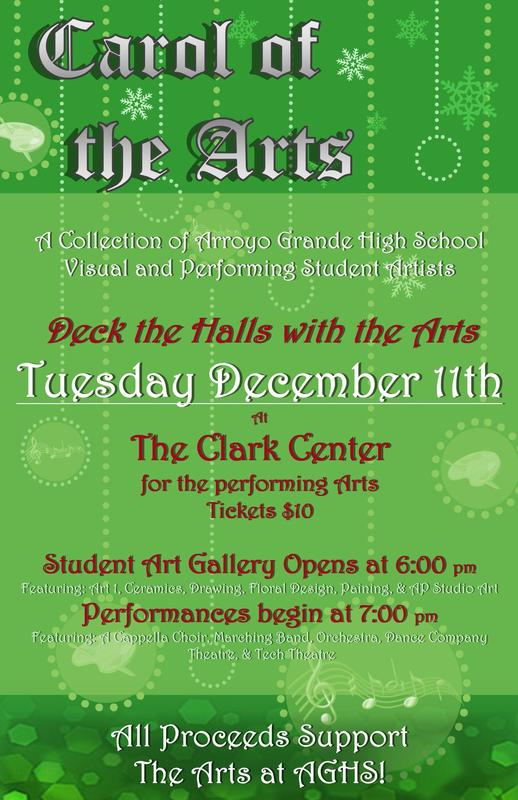 Carol of the Arts 2018