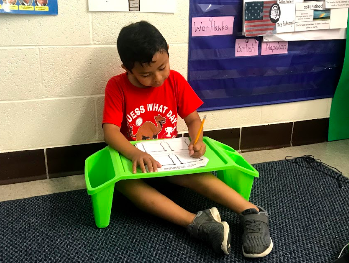 Flexible Seating at Eugene Field