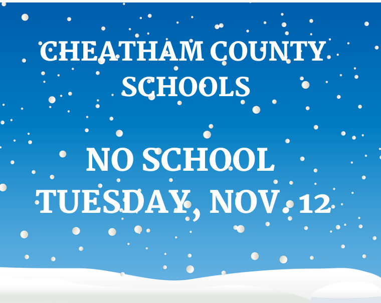 No school on Nov. 12