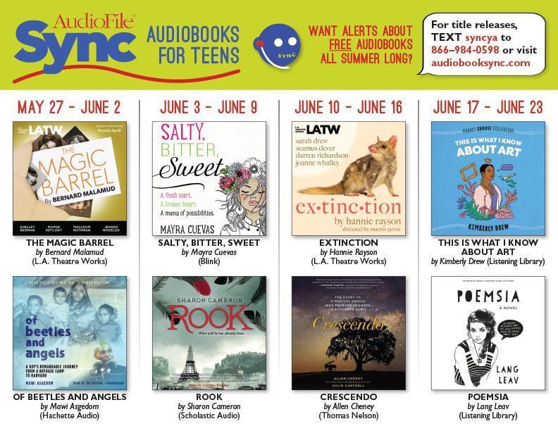 Audiobooksync May 27 June 23