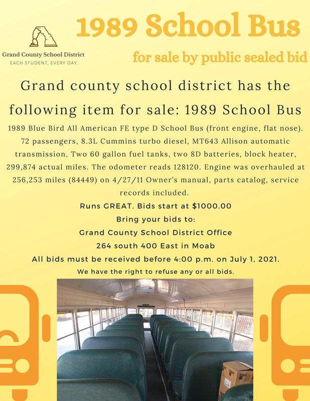 For sale - 1989 Blue Bird All American school bus Featured Photo