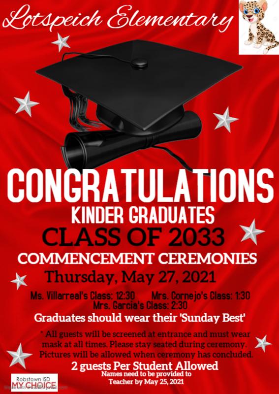 2020-2021 Kinder Graduation Featured Photo