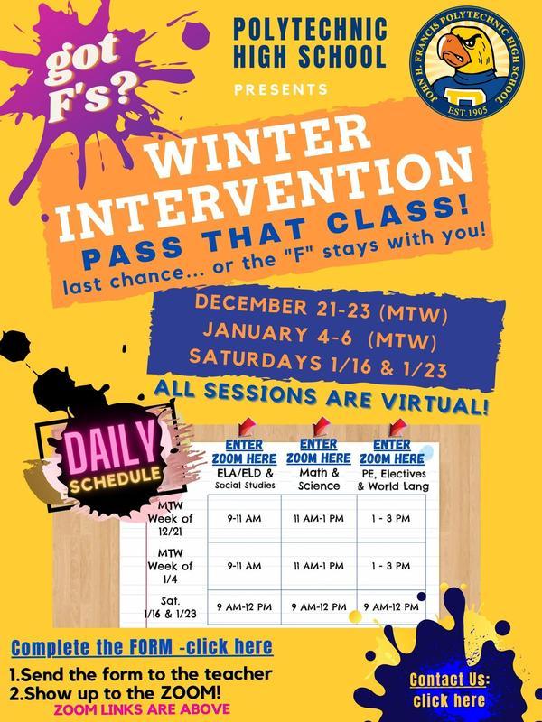 Winter Intervention /  Intervención de invierno Featured Photo