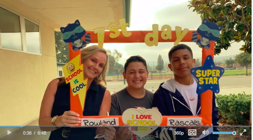 Check out our 1st Day of School Video Featured Photo