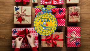 Countryside FFA gifts wrapping