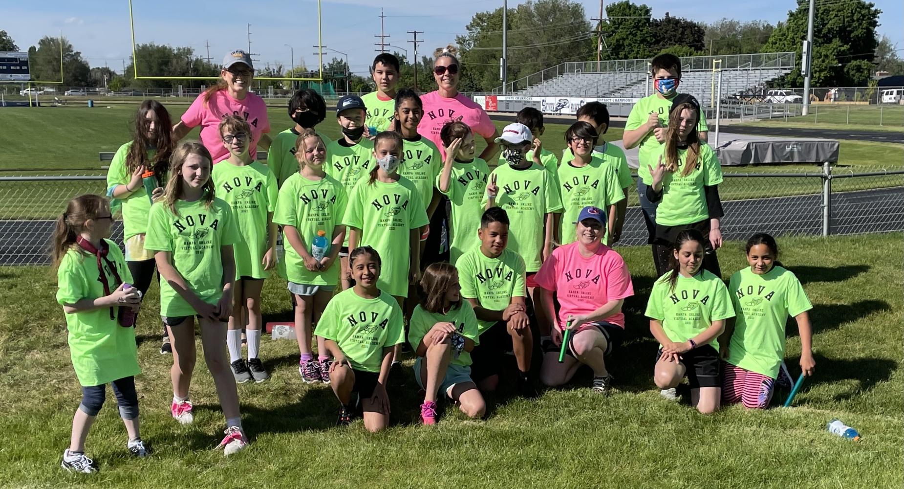 NOVA 2021 4th & 5th Grade Track Meet