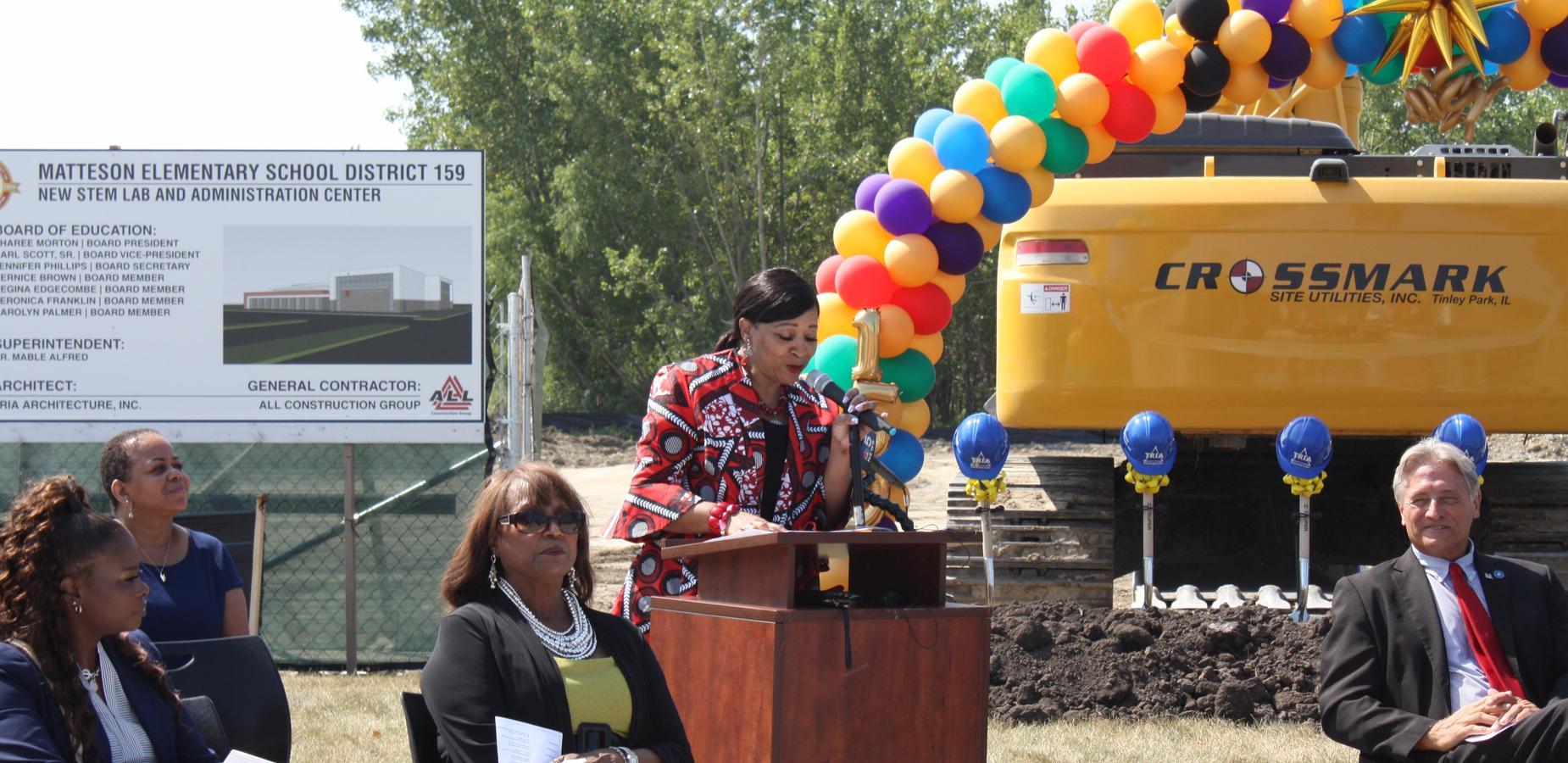 STEM Center  and Administrative Center Groundbreaking Ceremony