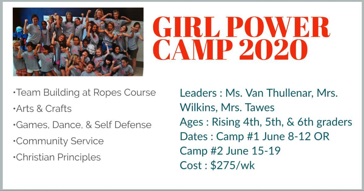 GIRL  POWER  CAMP  2020
