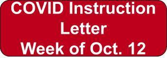 COVID Instruction Letter