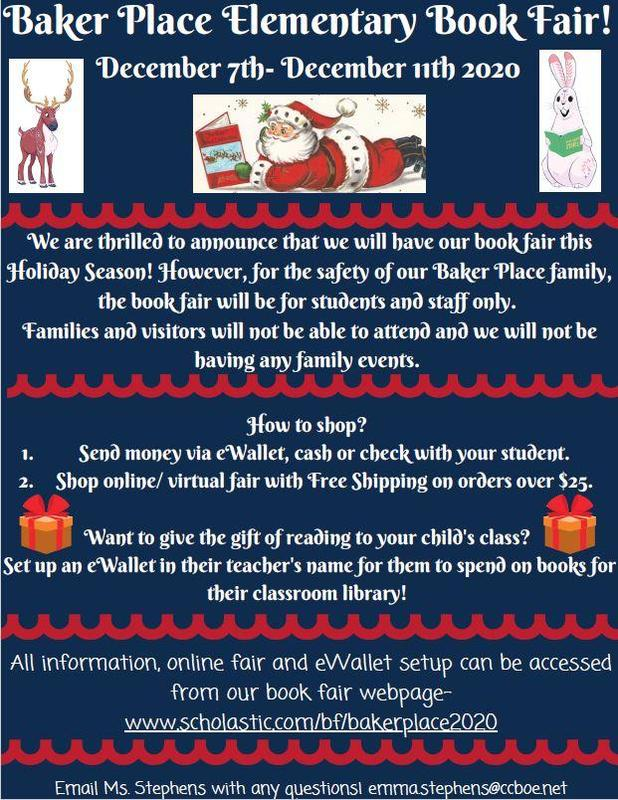 2020 Book Fair- Give the Gift of Reading! Featured Photo