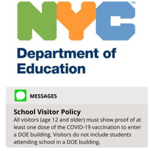 School Visitor Policy