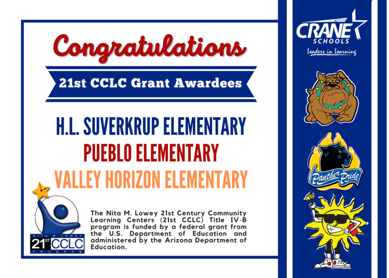 Three Crane Schools Receive Federal Grant to Fund Afterschool Programs Featured Photo