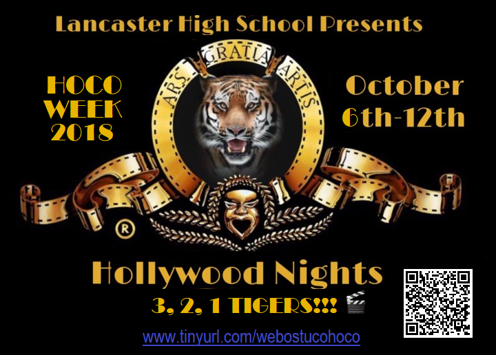 Lancaster High School Homecoming Parade, Community Pep Rally, Bonfire Thumbnail Image