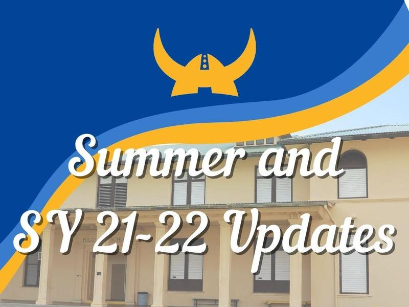 July 15, 2021 Summer and SY 21-22 Updates Featured Photo