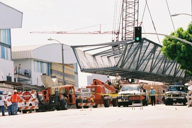 3rd Street bridge construction, 2006