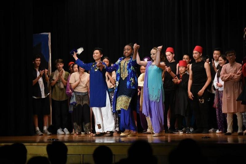 Eighth Grade presents the musical Aladdin Jr.! Thumbnail Image