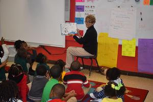 Kennedy Early Childhood Center kicked off Read Across America Week with a Dr. Seuss Parade