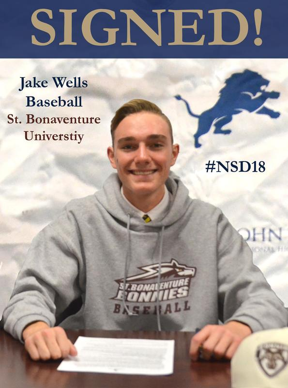 Jake Wells Signing Day NLI