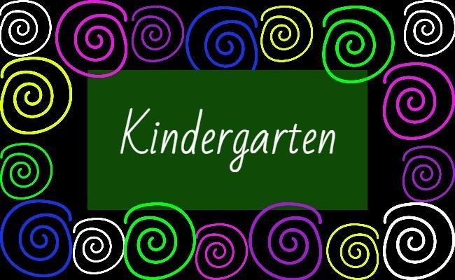 Image of Kindergarten Name