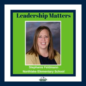 Northlake Elementary principal Stephanie Feldmann