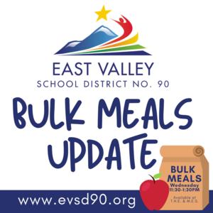 Bulk Meal Update