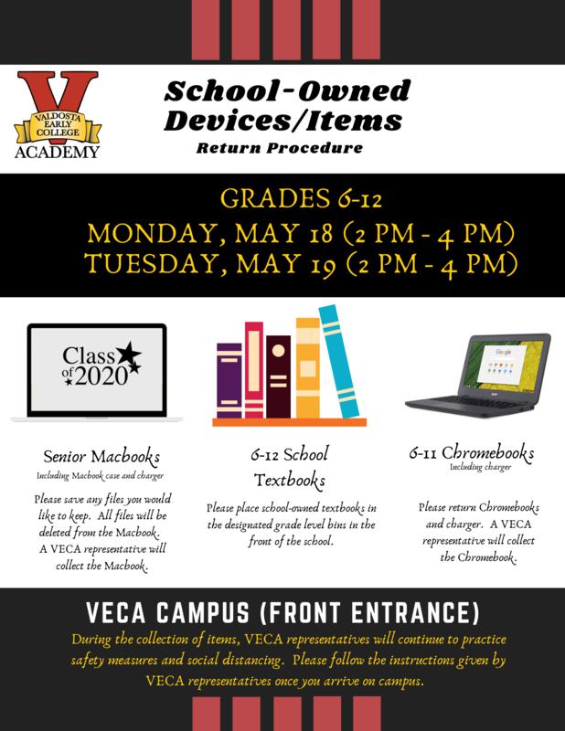 VECA Pick Up Info