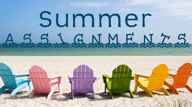 summer assignment photo