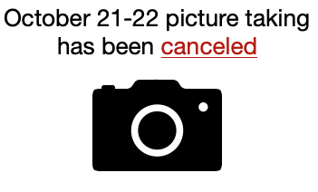 Picture Taking is Canceled Featured Photo