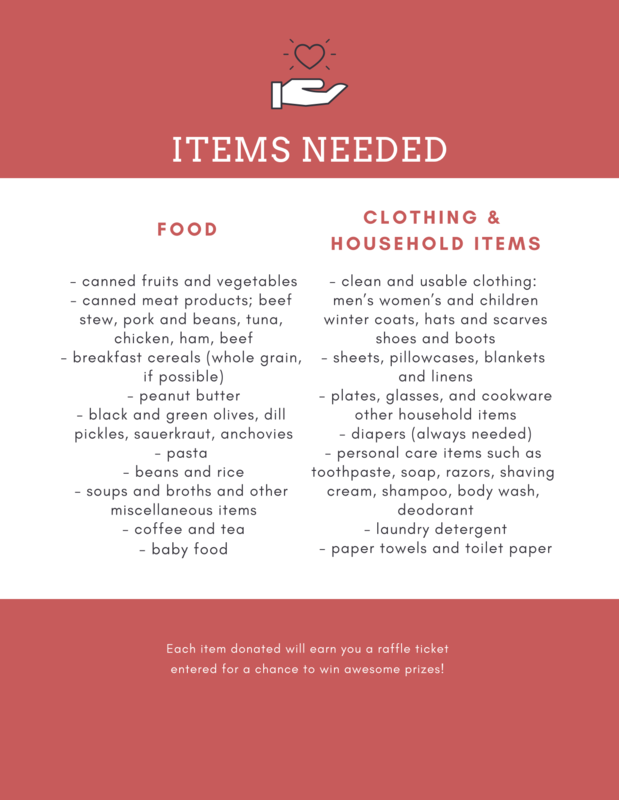 Holiday Food & Clothing Drive Flyer 18' 2.png