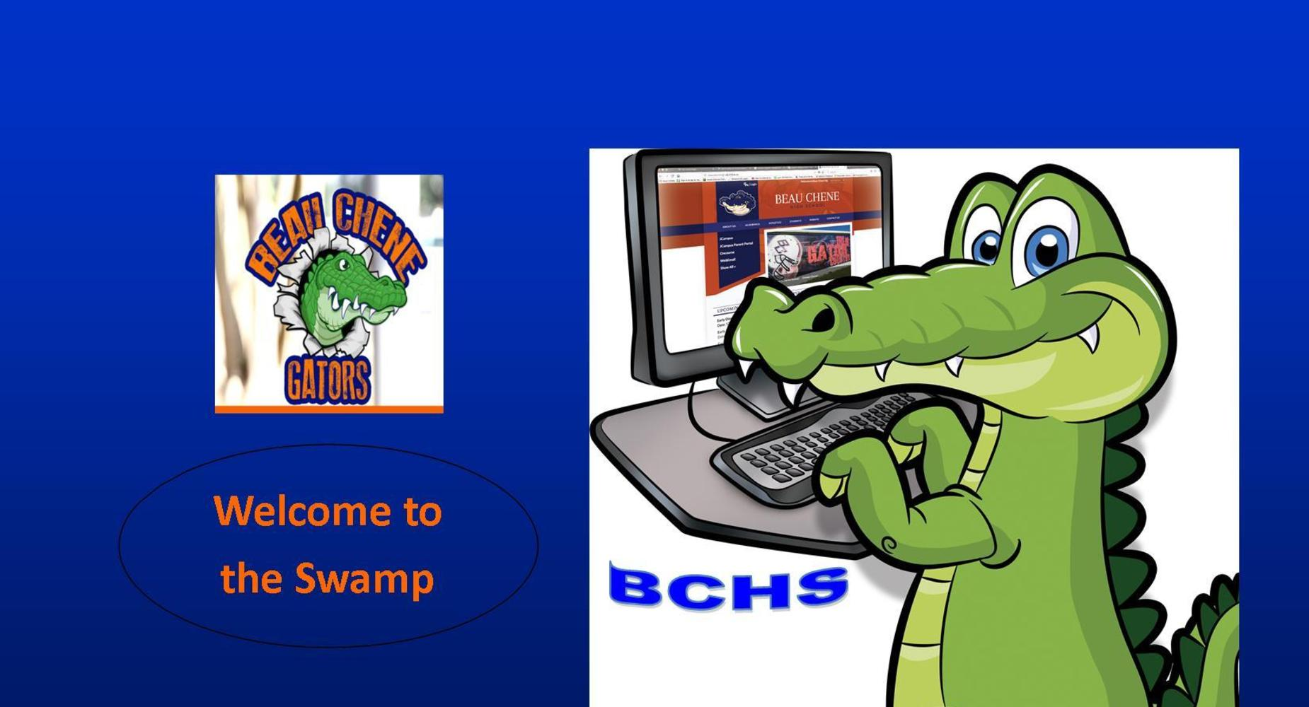Welcome to the Swamp-Gator on the Computer
