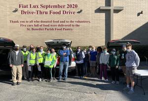 Fiat Lux 9.2020 Food Drive group pic.JPG