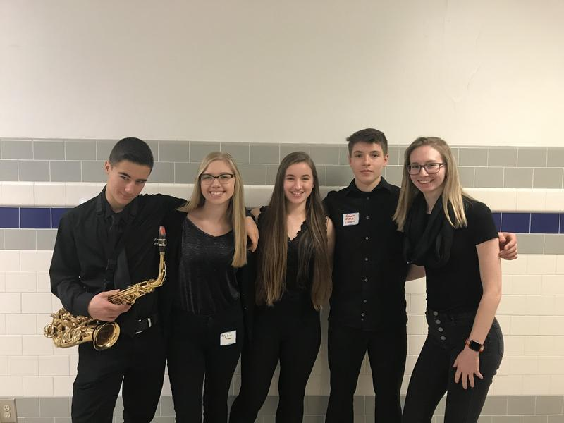 SLCMEA high school all-county Band